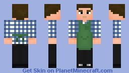 RPG Series #4: Shopkeeper Minecraft Skin