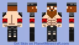 Red Viking Minecraft Skin