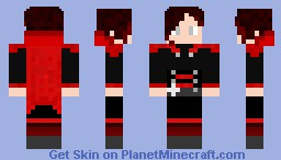 Ruby Rose - RWBY Minecraft Skin