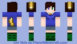 Dog Girl Updated Minecraft Skin