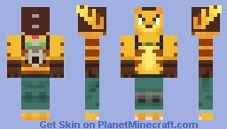 Ratchet and Clank (Rachet) Minecraft Skin