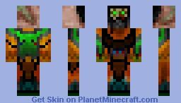 ToxicManiac Minecraft Skin