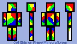 Paint Splash Minecraft Skin
