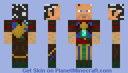 Ral Zarek [Magic: The Gathering] Minecraft Skin