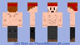 Rambo inspired skin Minecraft Skin