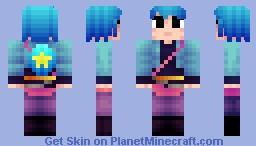 Ramona Flowers - Scott Pilgrim [Skin Series] Minecraft Skin