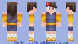 Random Girl With A Flower [Im out of ideas] Minecraft Skin