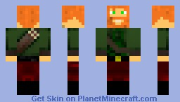 The Ranger (Fixed Beard and Quiver) Minecraft Skin