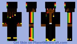 Rasta Man in Minecraft Minecraft Skin