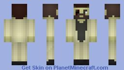 Raul Menendez - Black Ops II Minecraft Skin
