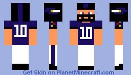 Baltimore Ravens Minecraft Skin