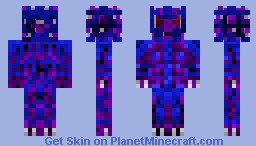 Raviel God of Phantasm (with backstory) Minecraft Skin