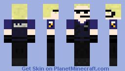 Albert Wesker (Resident Evil 1) Minecraft Skin