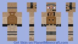 BF3 Recon Soldier Minecraft Skin
