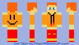 Red Head Minecraft Skin