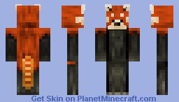 Red Panda! Skin series! Minecraft Skin