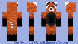 Red Panda Prs Minecraft Skin