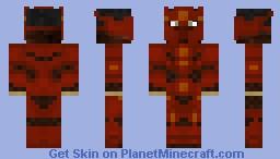 Nether King (Alt.) [Gilded Warriors Series] Minecraft Skin