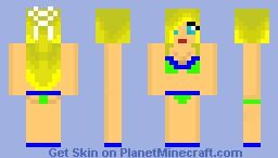 Green Beech Girl Minecraft