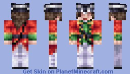 Eleanor Mallow - The Red Coat Minecraft Skin