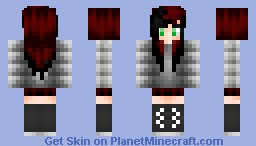 ~Satoru~ Black tipped girl (Request) Minecraft Skin