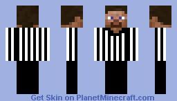 Referee Minecraft Skin