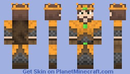 Renly Baratheon (Game of Thrones) *PaperCraft Included* Minecraft Skin