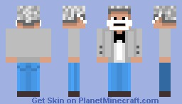 Old Mayor In Tuxedo (Cheppa Town) Minecraft Skin