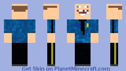 Retarded Policeman Minecraft Skin