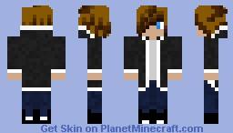 British Teenager Minecraft Skin