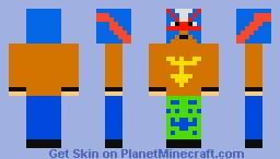 Rey Mysterio Minecraft Skin