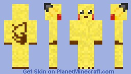 Pikachu Skin (Diamond Please ^_^) Minecraft Skin