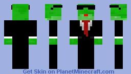 Frog Minecraft Skin