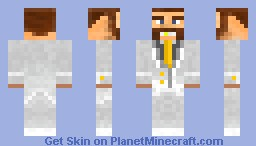 Rich Dude Minecraft Skin