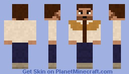 Rick Grimes Season 2 Minecraft Skin