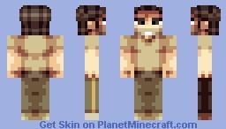 Rick Grimes Remake [The Walking Dead] Minecraft Skin