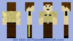 Rick - The Walking Dead [Best in 3D] [Moving Eyes/Mouth] Minecraft Skin