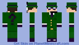 The Riddler Minecraft Skin