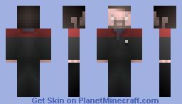 Cmdr  Riker,  /  ST Generations Minecraft Skin