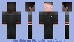 Cmdr Riker,  /  ST INSURRECTION Minecraft Skin