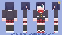 Rikka Takanashi Minecraft Skin