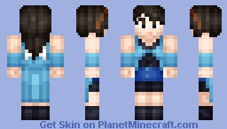 Rinoa Heartilly (FFVIII) Minecraft Skin