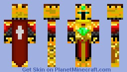 King of the kings Minecraft Skin