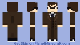 [ Doctor Who ] The Tenth Doctor - Rise of the Cybermen Minecraft Skin