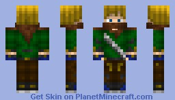 Road Side Thug/Vagabond for Medieval/Dark ages contest Minecraft Skin