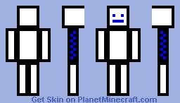 Herpdaderp (blue) Minecraft Skin