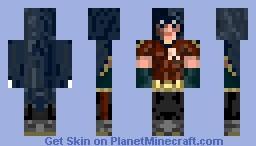 Robin from Arkham City Minecraft Skin