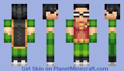 Robin - Teen Titans [Skin Series] Minecraft Skin