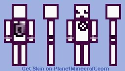 Robot3000 Minecraft Skin