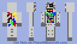 Robot! Minecraft Skin
